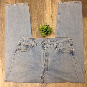 Rare vintage levi jeans made in the USA